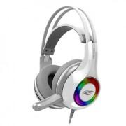 Fone Headset De Ouvido C3tech Gamer Com Microfone Usb 7.1 Heron Ph-G701wh
