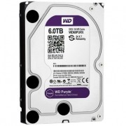 HD WD SATA 3,5 Purple Surveillance 6TB IntelliPower 64MB Cache SATA 6.0Gb/s WD60PURX
