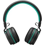Headset Pulse Fun Bluetooth PH215 Preto e Verde