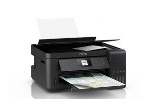 Impressora Multifuncional WI-Fi Epson EcoTank L4160