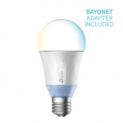 Lampada Led Com Luz Regulável Tp-link Smart Wi-fi Lb120