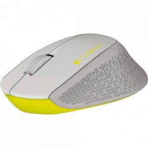 Mouse Óptico Wireless Nano Logitech M280  Cinza