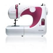 Máquina De Costura Elgin Futura Jx 2040 Branco 220v