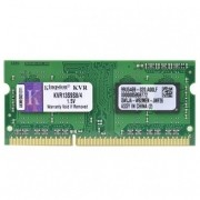 Memória Kingston 4GB 1333Mhz DDR3 p/ Notebook CL9 - KVR13S9S8/4