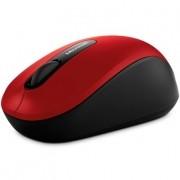 Mouse Microsoft Wireless Bluetooth 3600 PN7-00028  Vermelho  e Preto