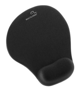 Mouse Pad Pequeno Com Apoio Gel Multilaser AC021