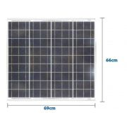 Painel Solar Yingli Yl055p-17b 2/5 36 Celulas Policristalino 55w