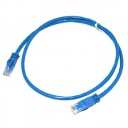 PATCH CORD 2FLEX CAT6 1M - AZUL