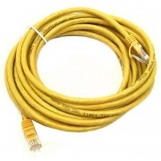 PATCH CORD 2FLEX CAT6 5M - AMARELO