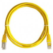 PATCH CORD LEX CAT6 1M - AMARELO