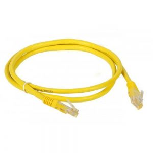 PATCH CORD LEX CAT6 2M - AMARELO