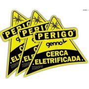 Placa de Advertência Cerca Elétrica Genno 10003754