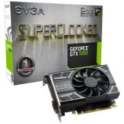 Placa de Vídeo VGA EVGA Geforce GTX 1050 2GB SC ACX DDR5 02G-P4-6152-KR