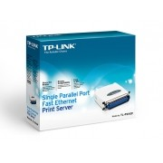 PRINT SERVER TP-LINK Servidor de Impressão de Porta Única Paralela Fast Ethernet TL-PS110P