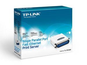Servidor de Impressão de Porta Única Paralela Fast Ethernet TL-PS110P TP-LINK
