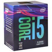 Processador Intel I5 8400 Coffee Lake 8a Geração 1151 Bx80684i58400