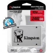 SSD Kingston 2.5´ 240GB UV400 SATA III Leituras: 550MB/s e Gravações: 490MB/s - SUV400S37/240G