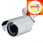 • SUPERLIQUIDATEK • Camera Neocam C/Infra 30m 480 Linhas Canhao Analógica