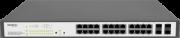 Switch Intelbras  24P Poe + 4 Portas Mini-gbic  Sg2404poe