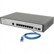 Switch Intelbras 08 Pts Gigabit +2 Mini - Gbic Sg1002mr