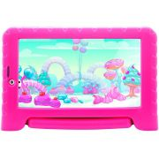 "Tablet Multilaser Kid Pad Plus 8GB 7"" 3G/Wi-Fi - Android Oreo (Go) Quad-Core com Câmera Integrada ROSA"