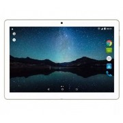 Tablet Multilaser M10A Lite 3G Quad Core Android 7 Dual Câm 2/5MP 10'' 8Gb Bluetooth Branco/Dourado NB268