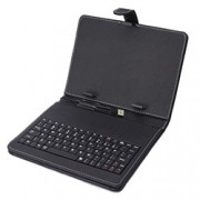 Teclado Portátil USB p/ Tablet com Capa T-8 – Preto – DL