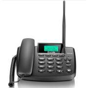 Telefone Celular Fixo GSM 200 Elgin Preto para 2 SIM Cards, Desbloqueado para Qualquer Operadora