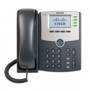 Telefone Cisco SPA504G 04 Linhas Ip Phone Com Poe