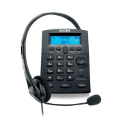 Telefone Com Headset Elgin HST 8000 42HST8000000 Preto