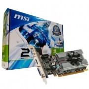VGA Placa de Vídeo VGA NVIDIA MSI GEFORCE N210 1024MB 1GB DDR3 PCI-Express N210-MD1G/D3