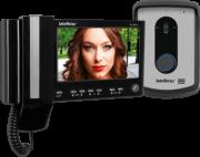 Vídeo Porteiro Intelbras IV 7010 HS LCD Colorido de 7 Preto