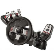 Volante G27 Racing Wheel Logitech com Pedal e Câmbio - PC/PS3