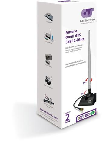 Antena Omni 5dBi HighBooster GTS 360º 78.0210A