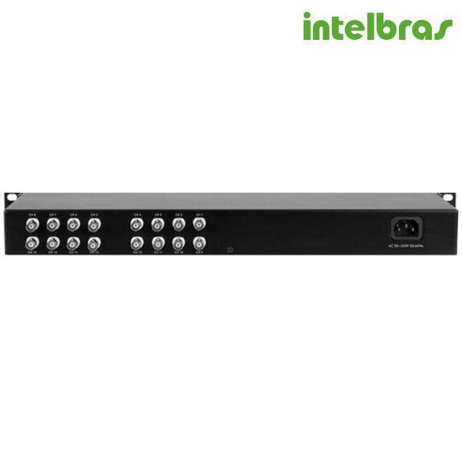 Balun Conversor Estático 16 Canais VBP 16C 4810015 - Intelbras