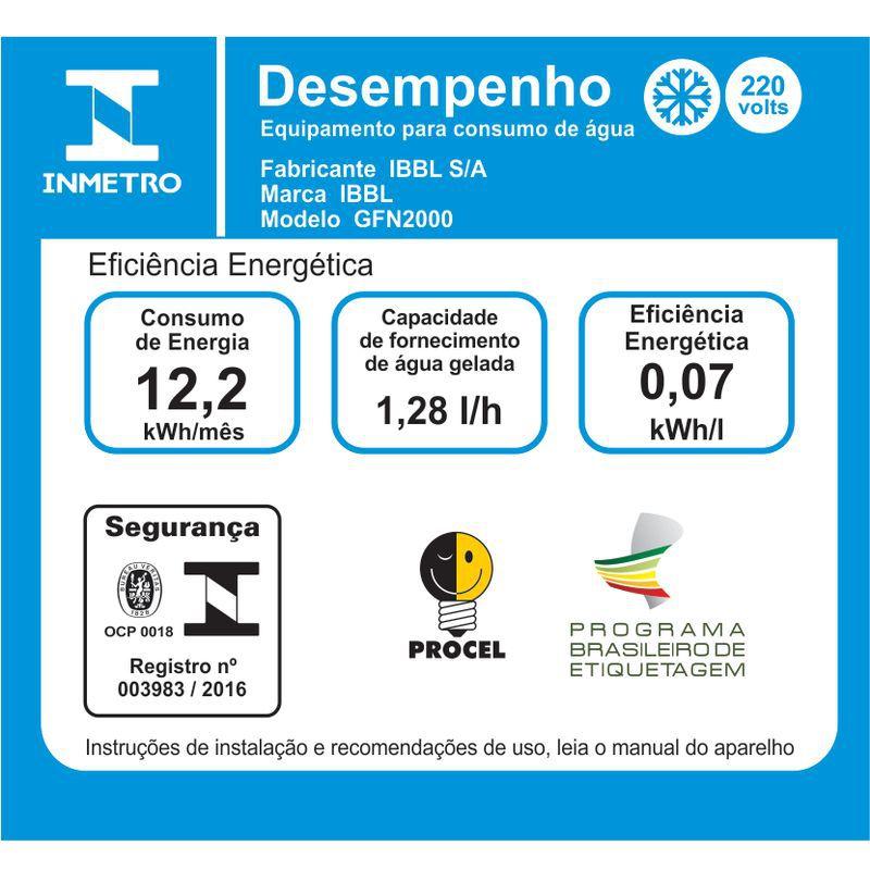 Bebedouro IBBL GFN 2000 Branco 220V