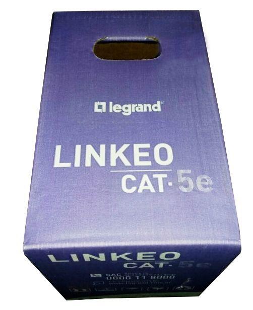 Cabo De Rede Cat5e Legrand Cx 305mts Azul LINKEO