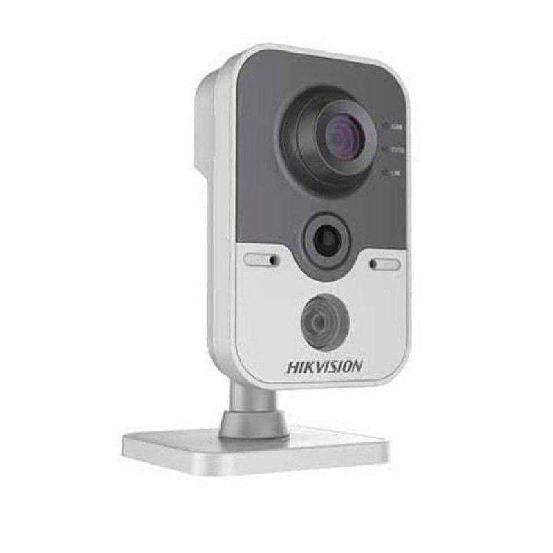 Câmera Cubo Pro Hikvision 4mm 1MP IR 10m DS 2CD2410F IW