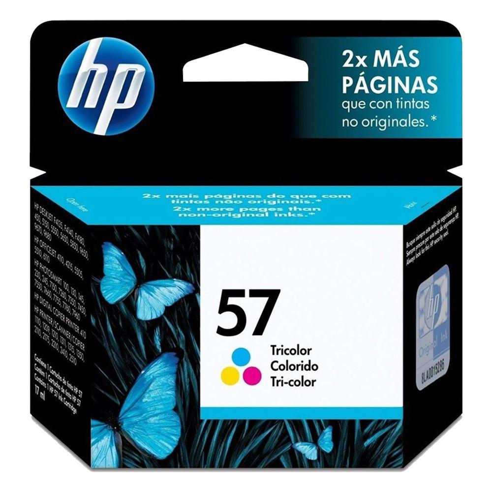 Cartucho de Tinta HP 57 Colorido C6657AB