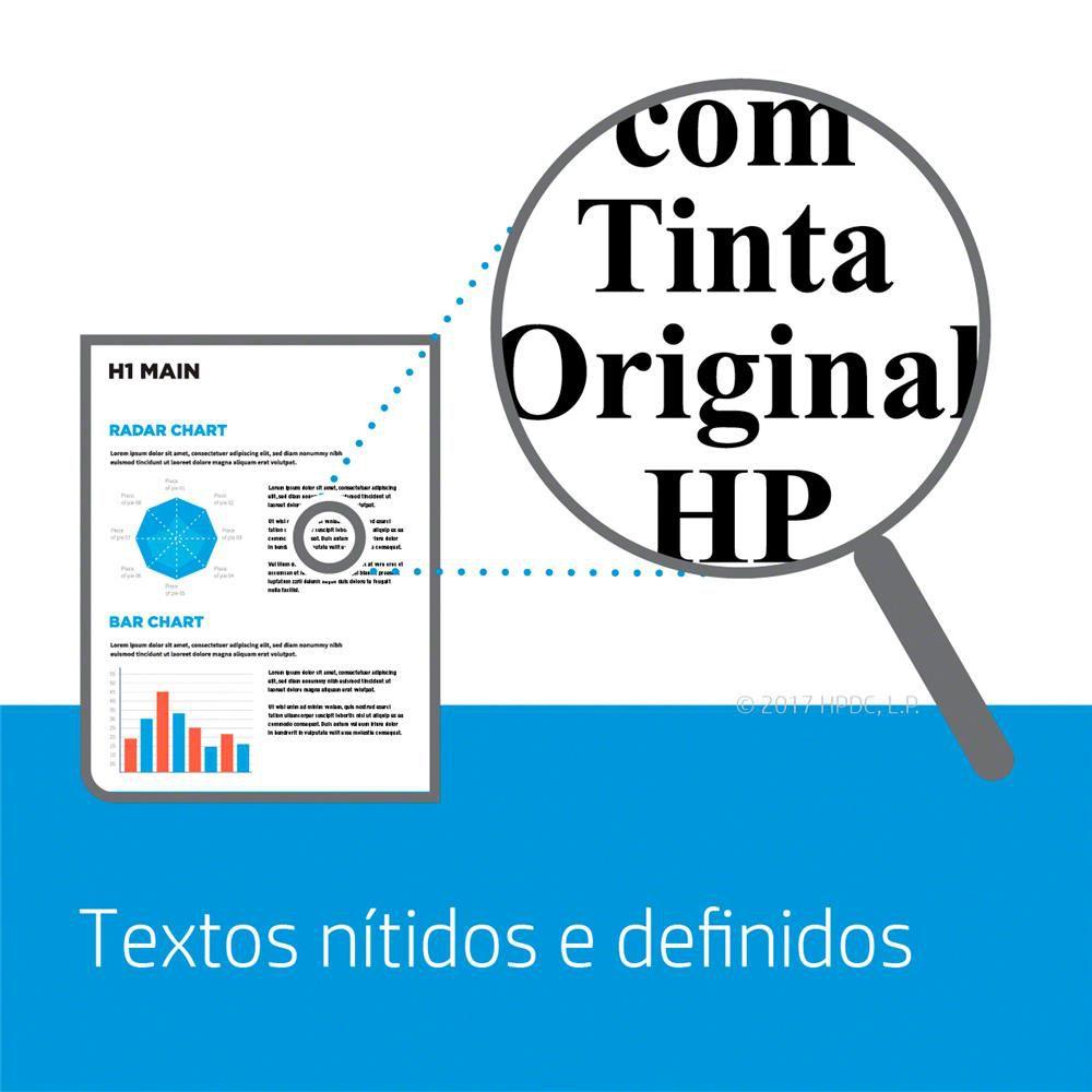 Cartucho HP 122XL Colorido Original (CH564HB)