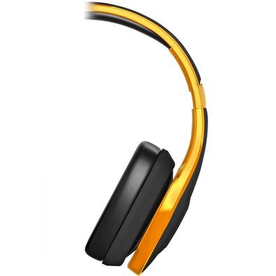 Fone Headphone Pulse Over Ear Hands Free Com Microfone Integrado - PH148 Amarelo