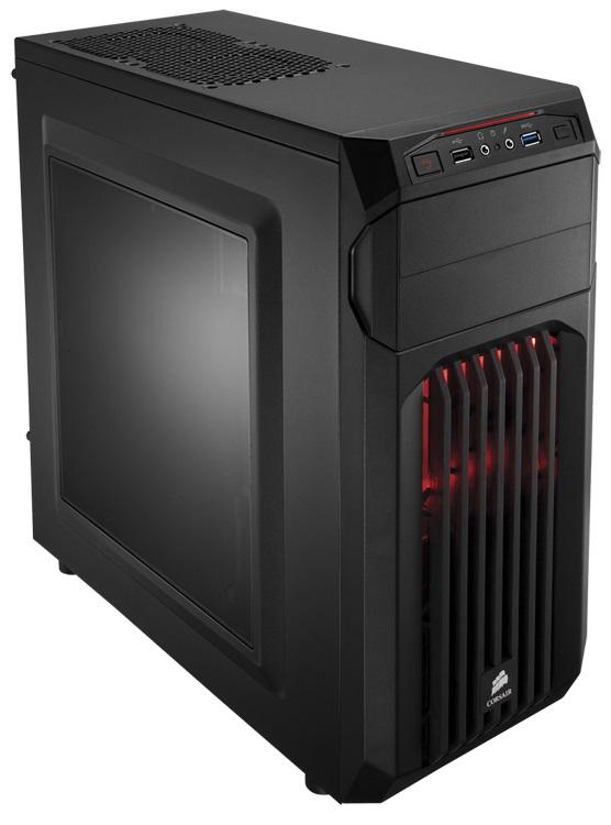 Gabinete Corsair Carbide Spec-01 Red LED Mid Tower CC-9011050-WW