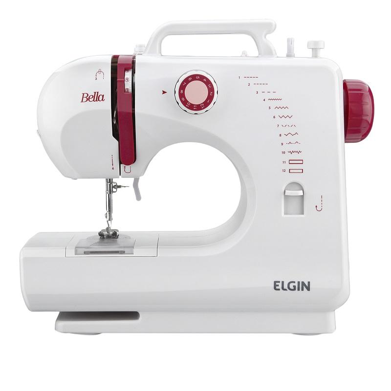 9056f62a3 Máquina de Costura Portátil Bella BL-1200 Elgin Bivolt