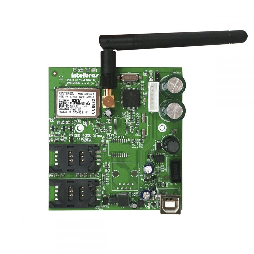 Módulo Smart Intelbras Gprs 4540043 XG 4000