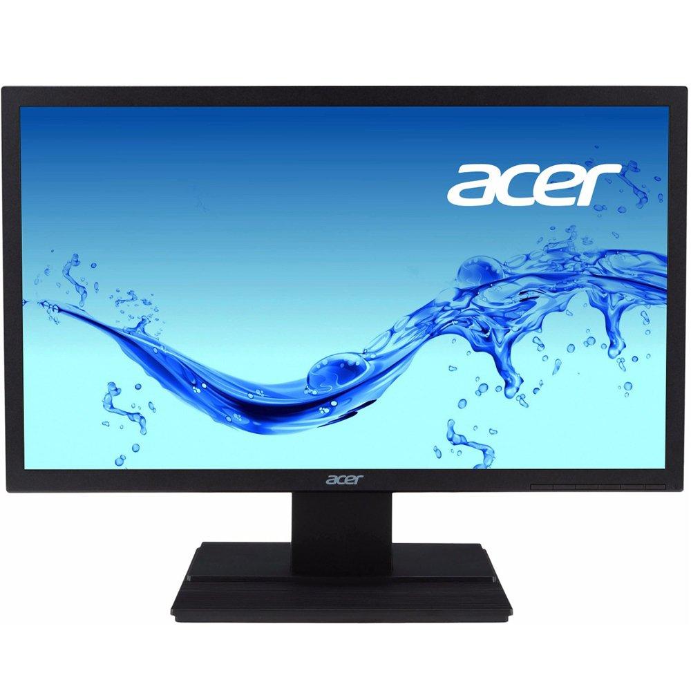 Monitor Acer LCD Widescreen 19.5 VGA HD, HDCP, VESA, Bivolt, Preto - V206HQL