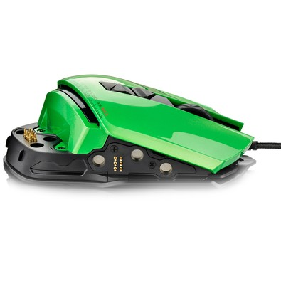 Mouse Gamer Multilaser Warrior 8200Dpi 8 Botões MO247 Led Colorido