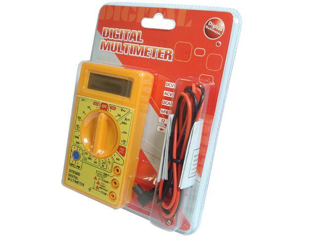 Multímetro Digital Beep  Dt-830d Seccon