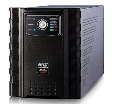 Nobreak NHS Senoidal Premium 2200VA Bivolt - 1 Porta Engate e 6 Baterias 9Ah