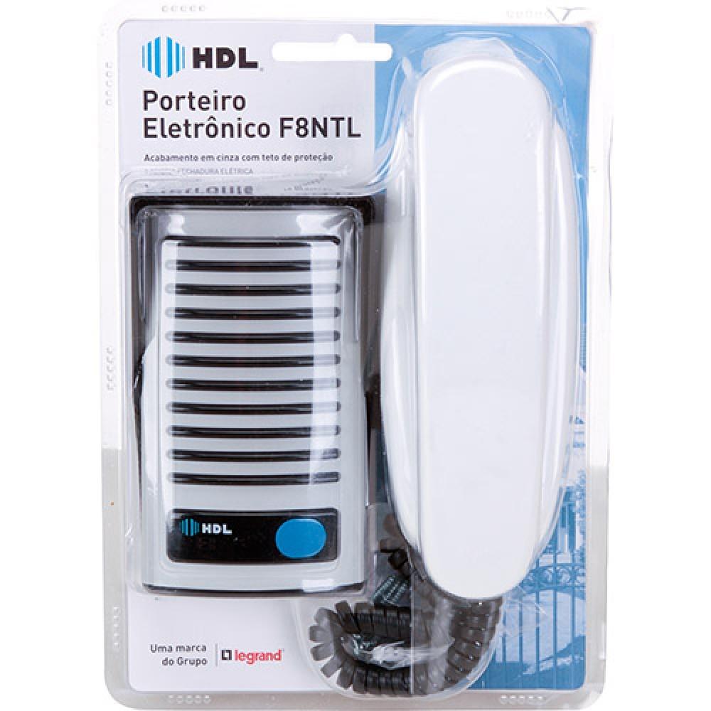Porteiro Eletrônico HDL F8 NTL Branco