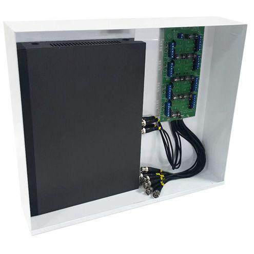 Rack Mini Orion HD 3000 Organizador de Cabos Onix Security Para DVR 16 Canais - Compatível c/ Todos DVRs HDCVI / TVI / AHD